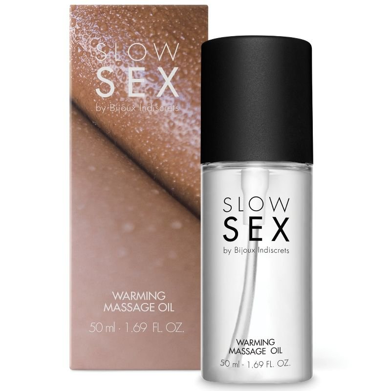 slow sex aceite masaje efecto calor 50 mlslow sex warming massag